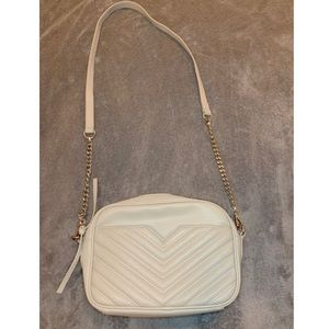 EXPRESS Grey and Silver Crossbody